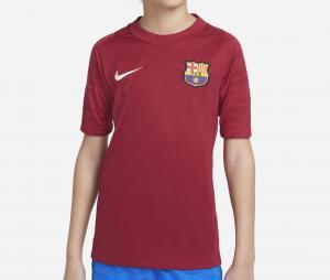 Maillot Entraînement  Barça Strike Rouge Junior