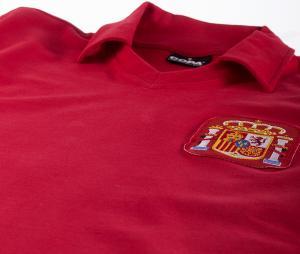 Maillot Vintage Espagne 1980 Rouge