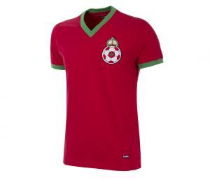 Maillot Vintage Maroc 1970 Rouge