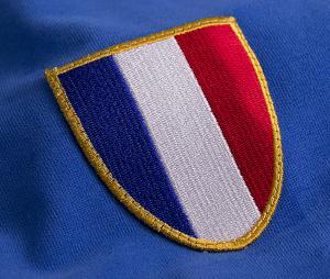 Maillot Vintage France 1968 Bleu