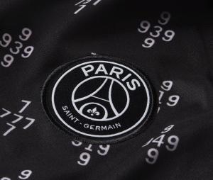 Maillot Pré-Match PSG Strike Noir