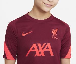 Maillot Entraînement  Liverpool Strike Rouge Junior