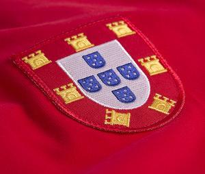 Maillot Vintage Portugal 1960 Rouge