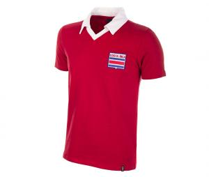 Maillot Rétro Costa Rica 1988 Rouge