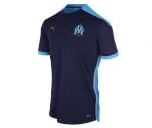 OM Training Men's Short-Sleeve Football Top Blue