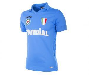 Maillot Vintage Napoli 1987 Bleu