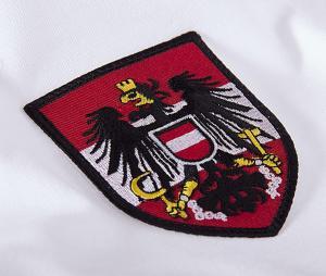 Maillot Vintage Autriche 1982 Blanc