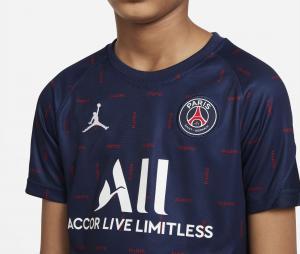 Maillot Pré-Match Jordan x PSG Strike Bleu Junior