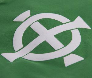 Maillot Vintage Irlande du Nord 1977 Vert