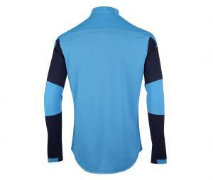 OM Quarter Zip Men's Football Top Blue