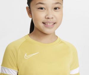 Maillot Nike Academy 21 Jaune Junior