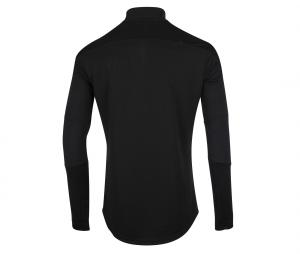 OM Quarter Zip Men's Football Top Black