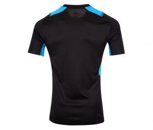 OM Quarter Zip Kid's Football Top Black/Blue