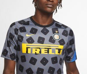 Maillot Pré-Match Inter Milan Gris