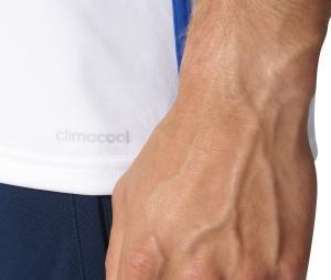 Maillot adidas Tiro Blanc Junior