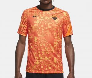 Maillot Pré-Match AS Roma Orange