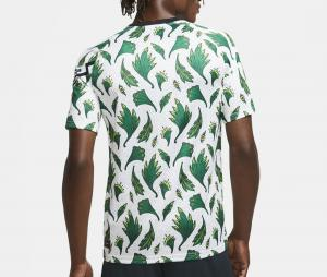 Maillot Pré-Match Nigeria Blanc/Vert