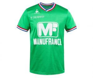 Maillot Rétro AS Saint-Etienne Manufrance Vert