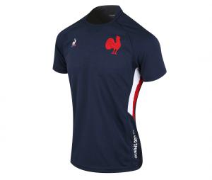 Maillot Pré-Match France FFR Replica Bleu