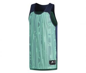 Débardeur adidas Electric Réversible Vert/Bleu