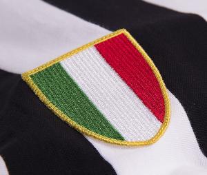Maillot Vintage Juventus 1970 Noir/ Blanc