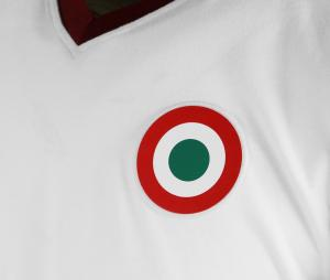 Maillot Vintage AS Roma 1980 Blanc