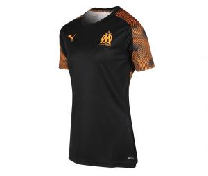 OM Training Woman's Football Top Black/Orange