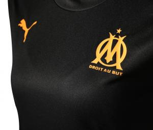 OM Training Woman's Football Top Black/Orange