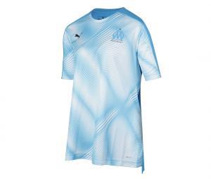 Camiseta de Entrenamiento OM Azul Mujer