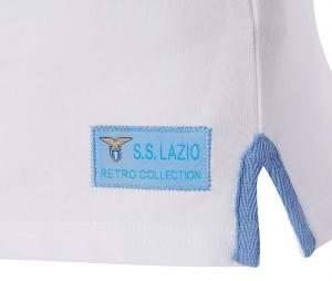 Maillot Vintage Macron SS Lazio 58 Blanc