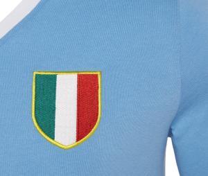 Maillot Vintage Macron SS Lazio 1974/75 Bleu