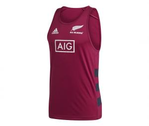 Débardeur All Blacks Singlet Primeblue Rouge