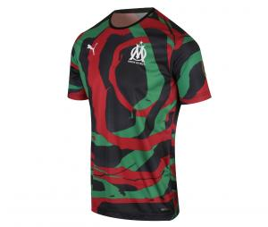 OM X AFRICA JERSEY.BCK RED