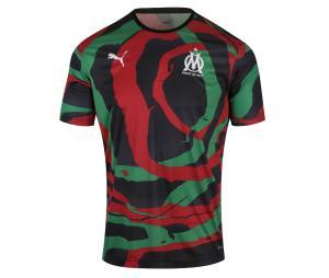 Maillot Collector OM x Africa Maroc Noir/Vert/Rouge