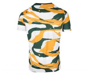 Camiseta Collector OM x Africa Blanco/Naranja/Verde