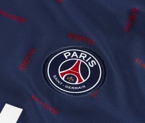 Maillot Pré-Match Jordan x PSG Strike Bleu