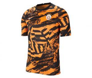 Maillot Pré-Match Galatasaray Strike Orange/Noir