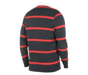 Polo Manches Longues Stade Toulousain Boxing Day Noir/Rouge