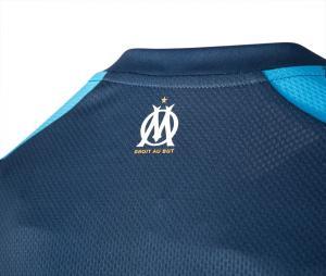 OM Training Men's Football Shirt Blue