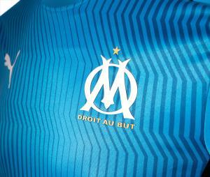 Camiseta de Entrenamiento OM Azul/Negro
