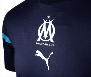 Maillot OM Pré-Match Bleu