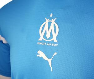 Camiseta OM Prepartido Azul
