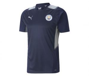 Maillot Entraînement Manchester City Bleu/Gris