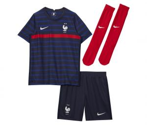 Younger Kids' Football Kit FFF 2020/21 Home