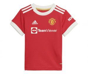 Mini Kit Manchester United Domicile 2021/2022 Bébé