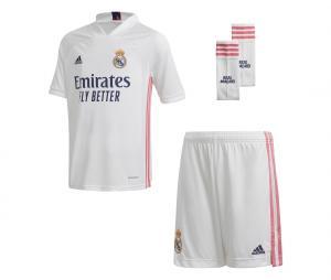 Mini Kit Real Madrid Domicile 2020/2021 Junior