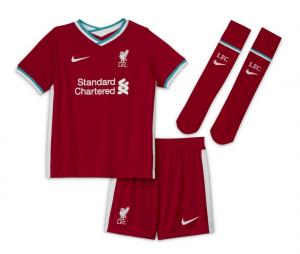 Mini Kit Liverpool Domicile 2020/2021 Junior