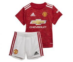Mini Kit Manchester United Domicile 2020/2021 Bébé