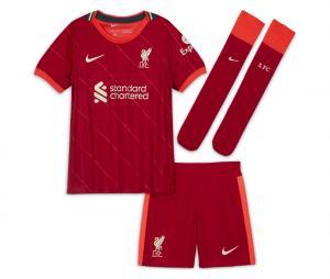 Mini kit Liverpool Domicile 2021/2022