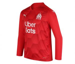 2020/21 OM Stadium Goalkeeper Kid's Football Long Sleeves Shirt